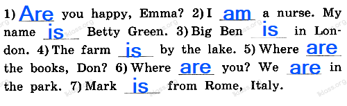 Английский язык 2 класс рабочая тетрадь Афанасьева step 58 - задание 1