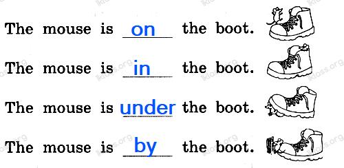 Английский язык 2 класс рабочая тетрадь Афанасьева step 60 - задание 4