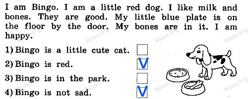 Английский язык 2 класс рабочая тетрадь Афанасьева step 62 - задание 3